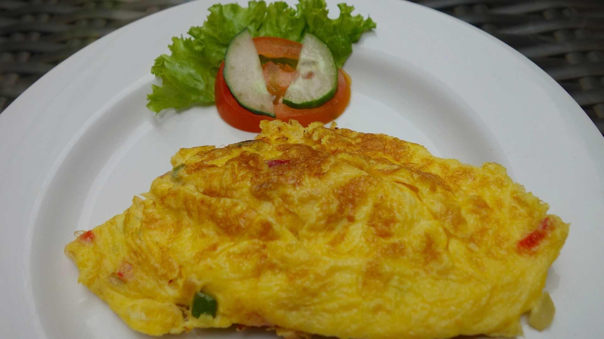 Omeletes saudaveis - Receita Protéica