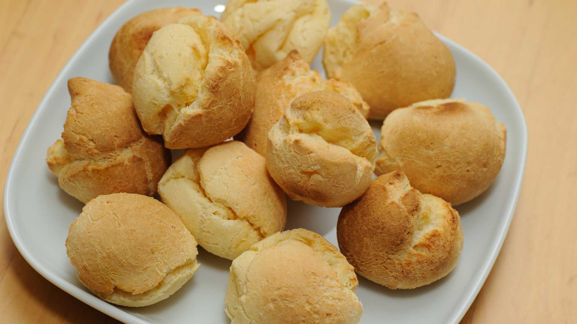Receitas saudáveis - Pão de mandioquinha