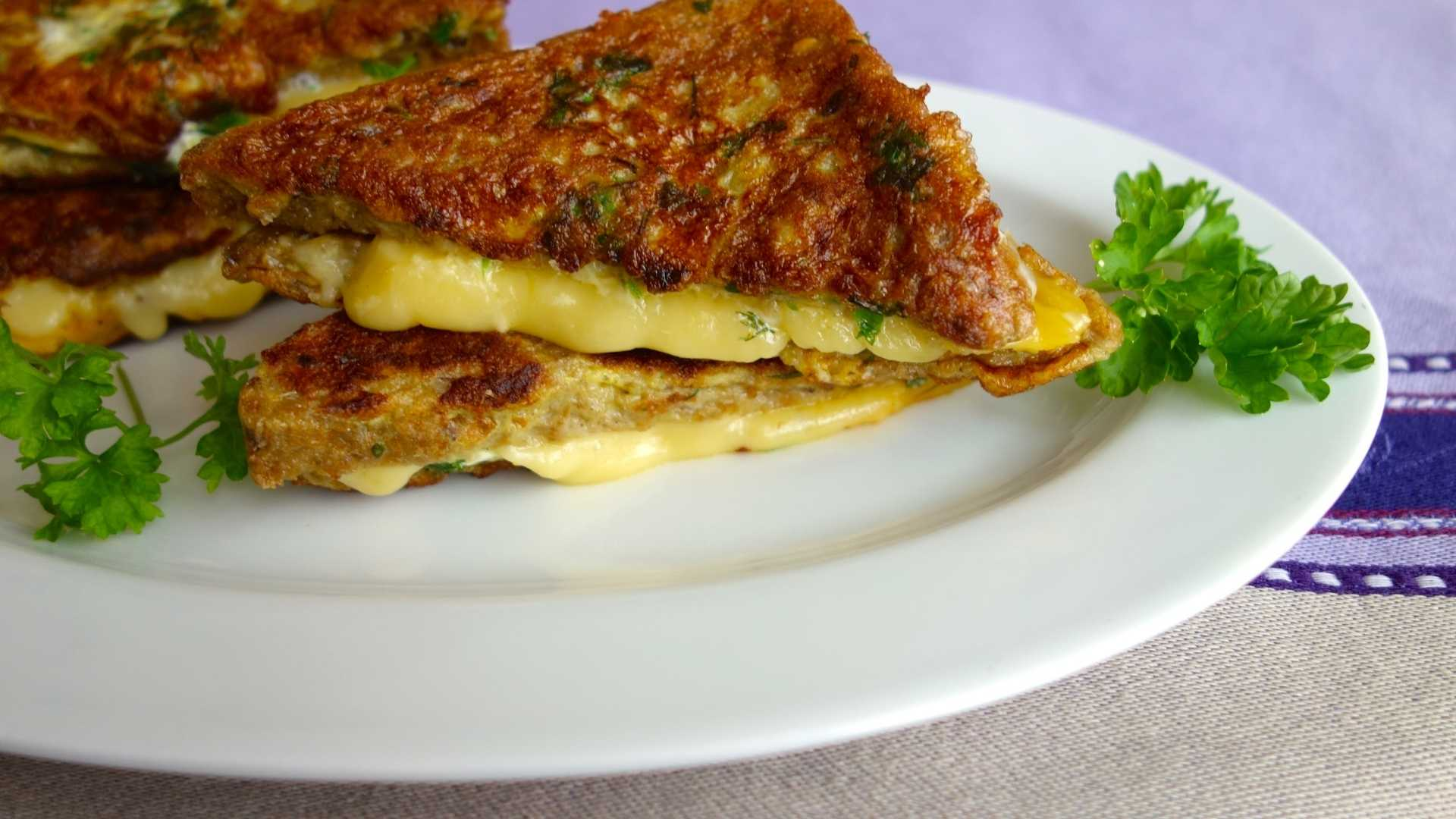 Receita fit de pão de queijo de frigideira
