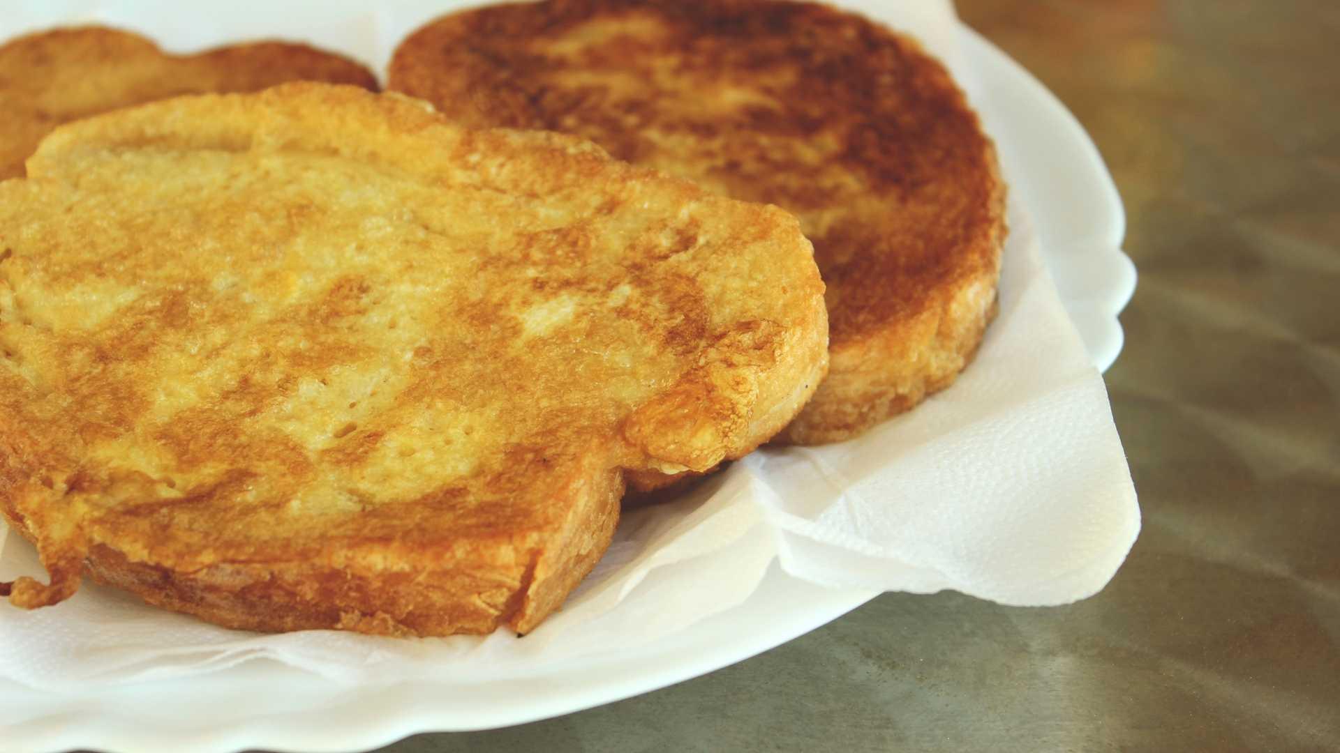 Receitas saudáveis - Pão de frigideira Low Carb