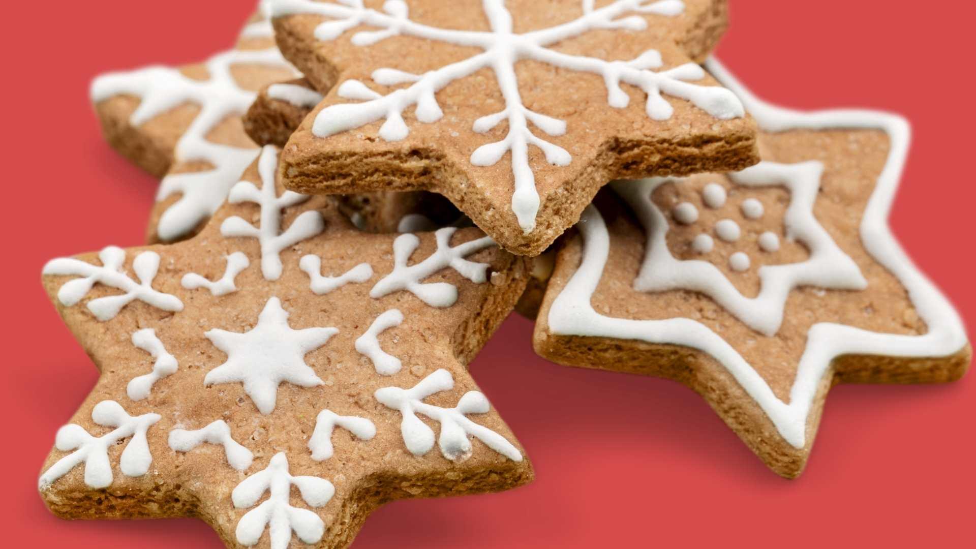 Receita de Cookies Natalinos
