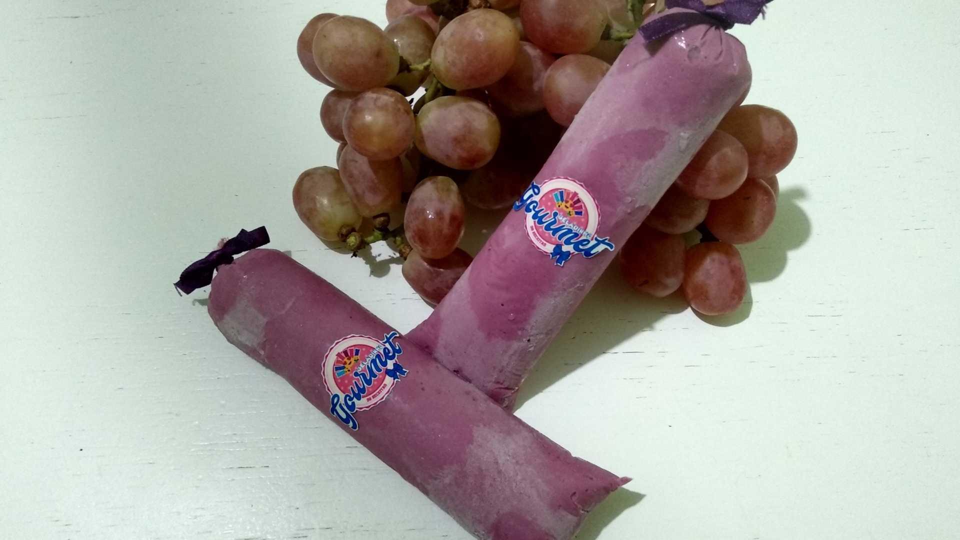 Geladinho Gourmet mousse de uva