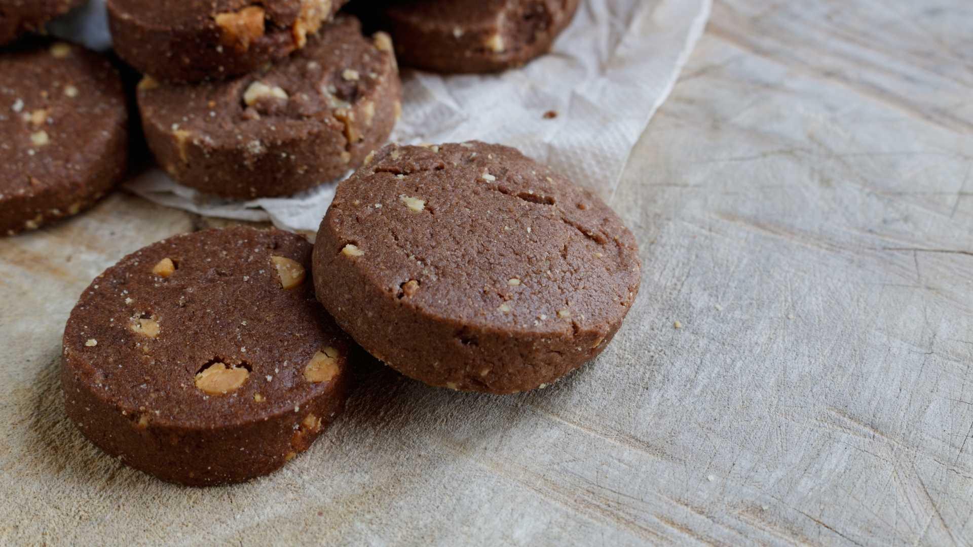 Cookie low carb na frigideira