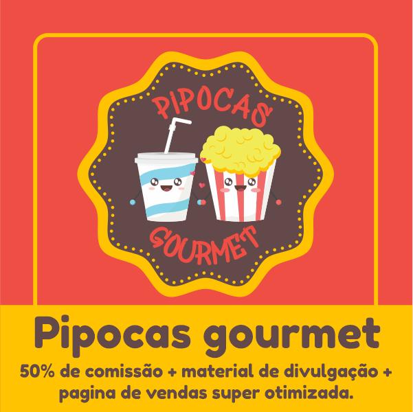 Pipoca Gourmet