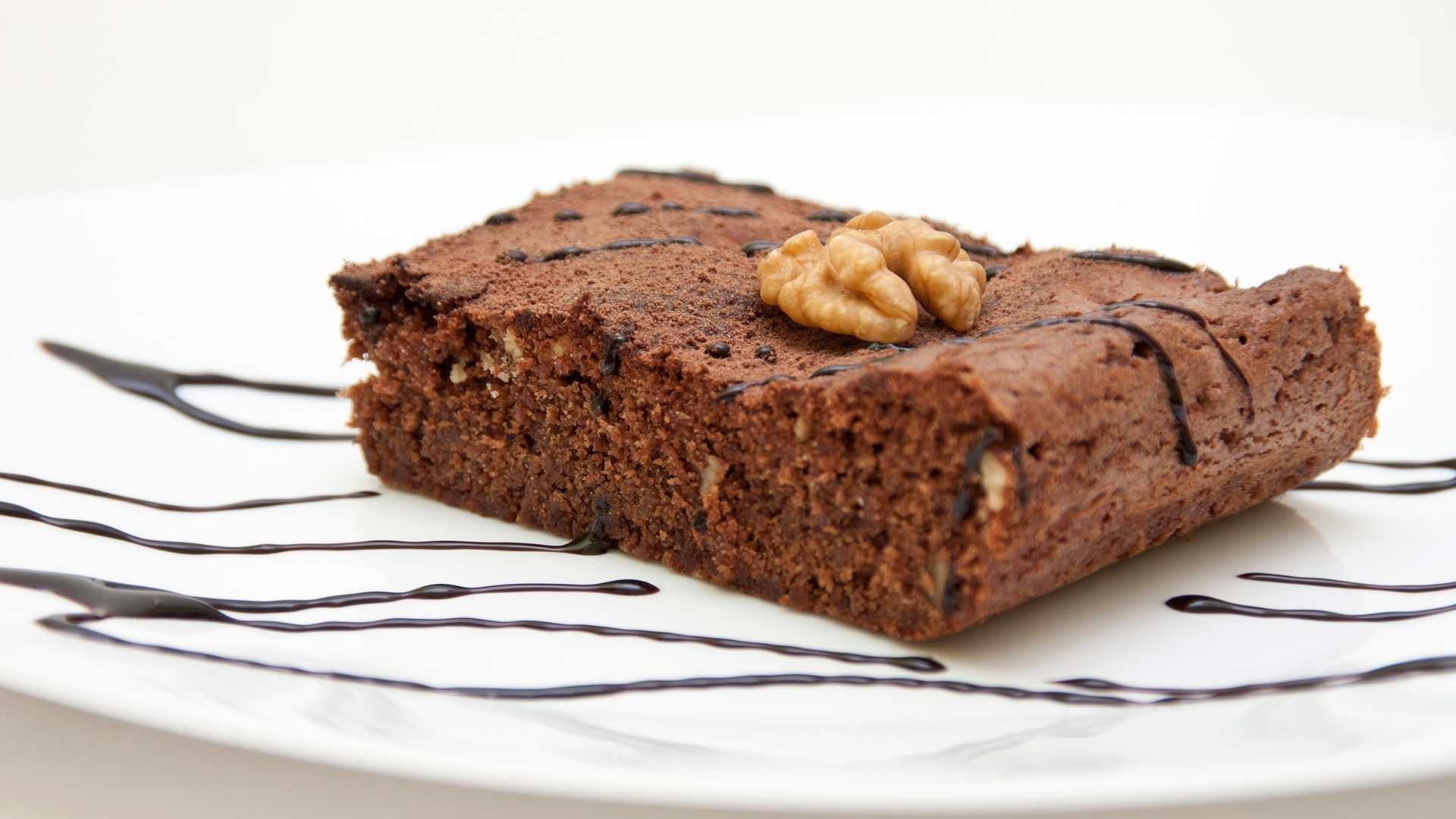 Receita de Brownie com Nozes