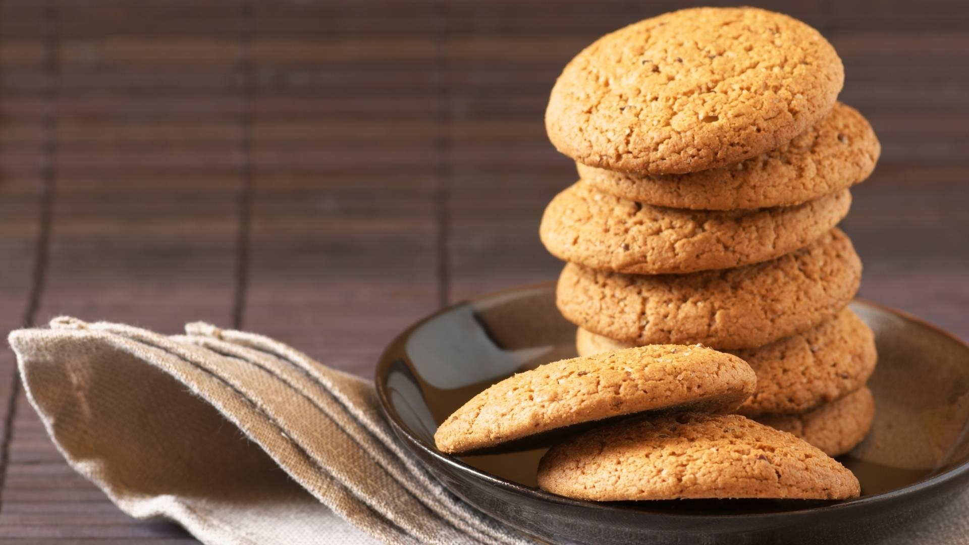Receita de Cookies com Farinha de Aveia e Óleo de Coco