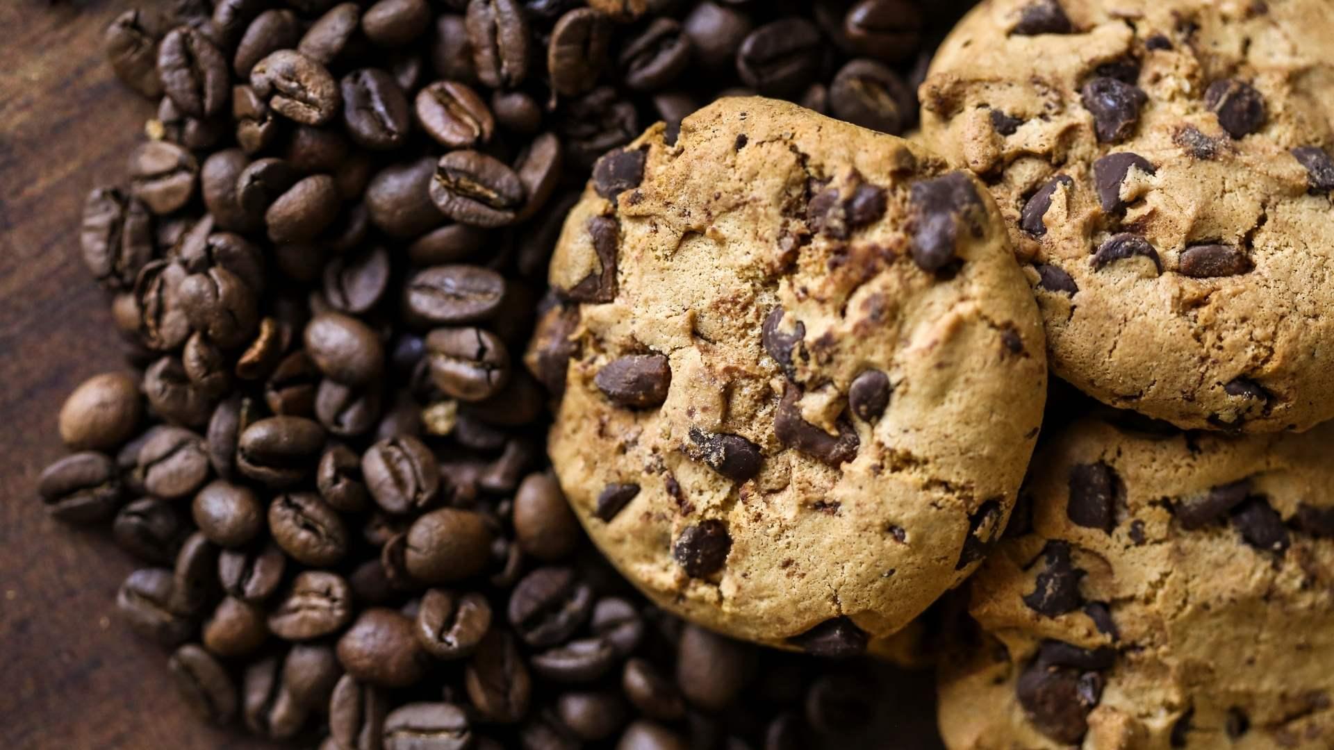 Receita de Cookies de Café