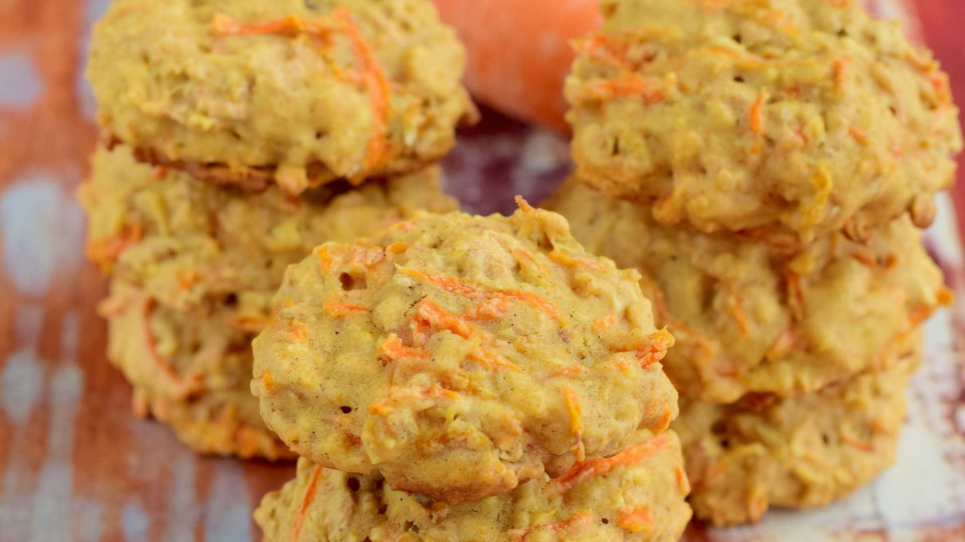 Receita de Cookies de Cenoura com Gotas de Chocolate
