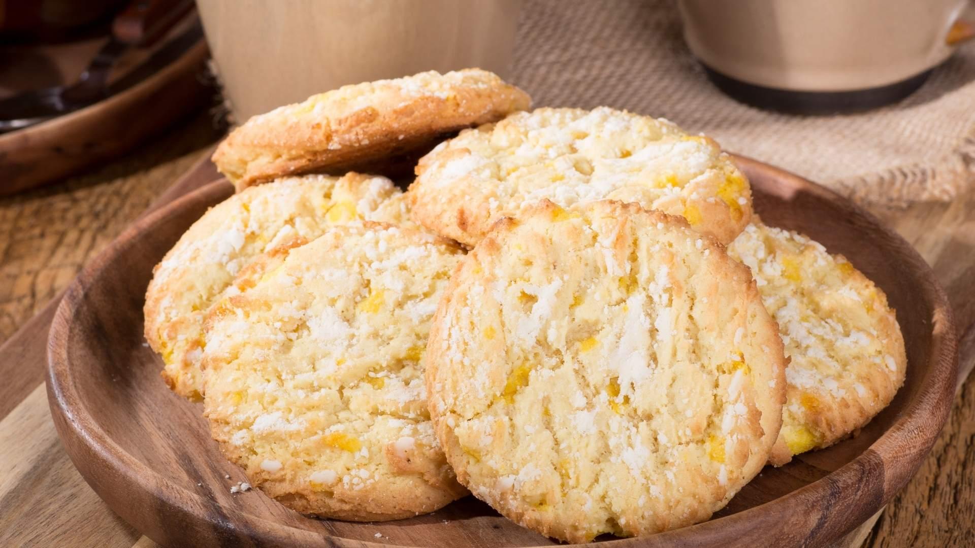 Receita de Cookies de Limão