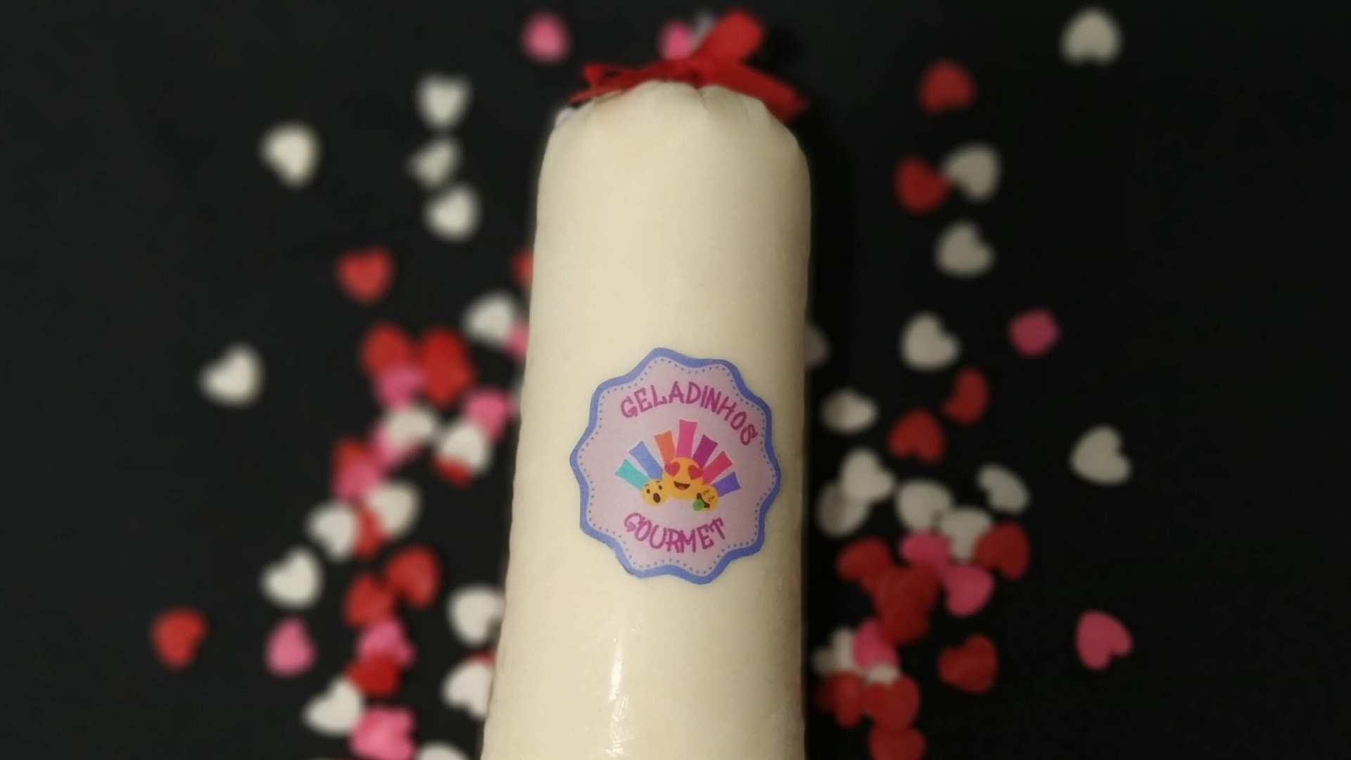 Receita de Geladinho Gourmet de Coco com leite condensado