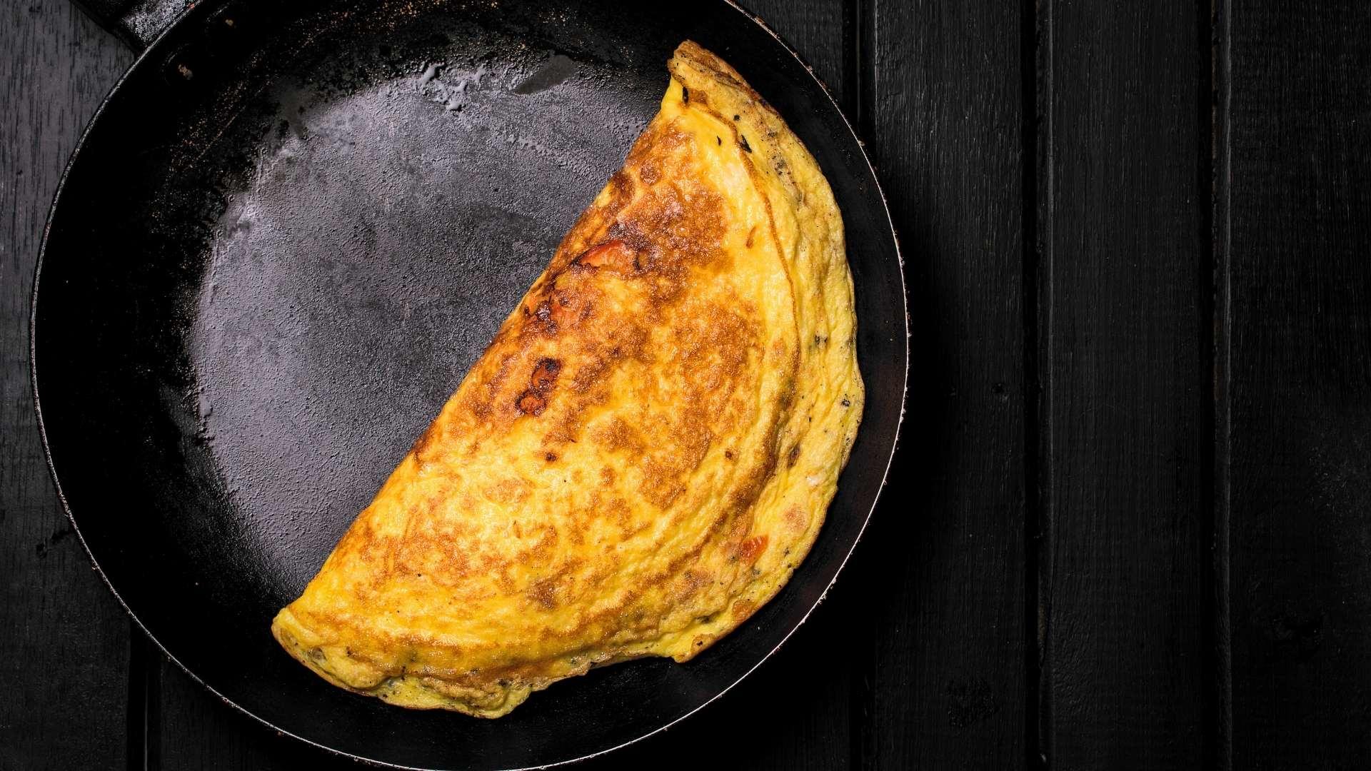 Receita de Omelete Proteica
