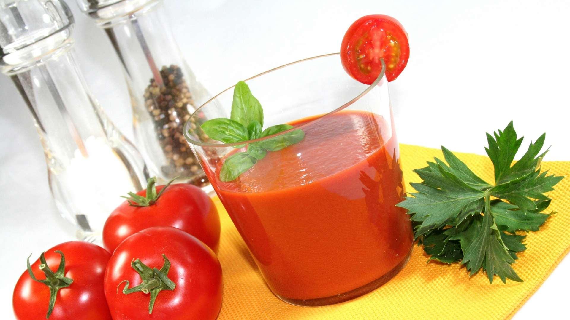 Receita de Suco Detox de tomate