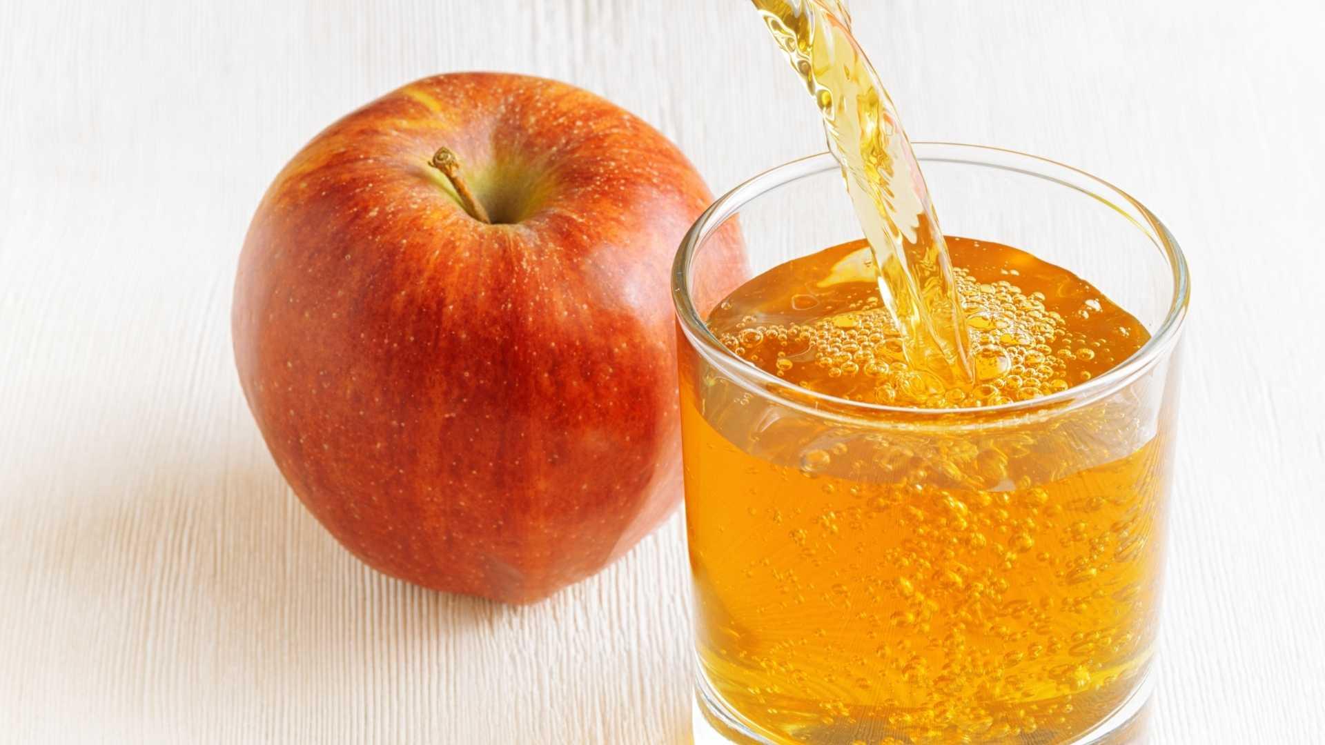 Receita de Suco detox de maçã