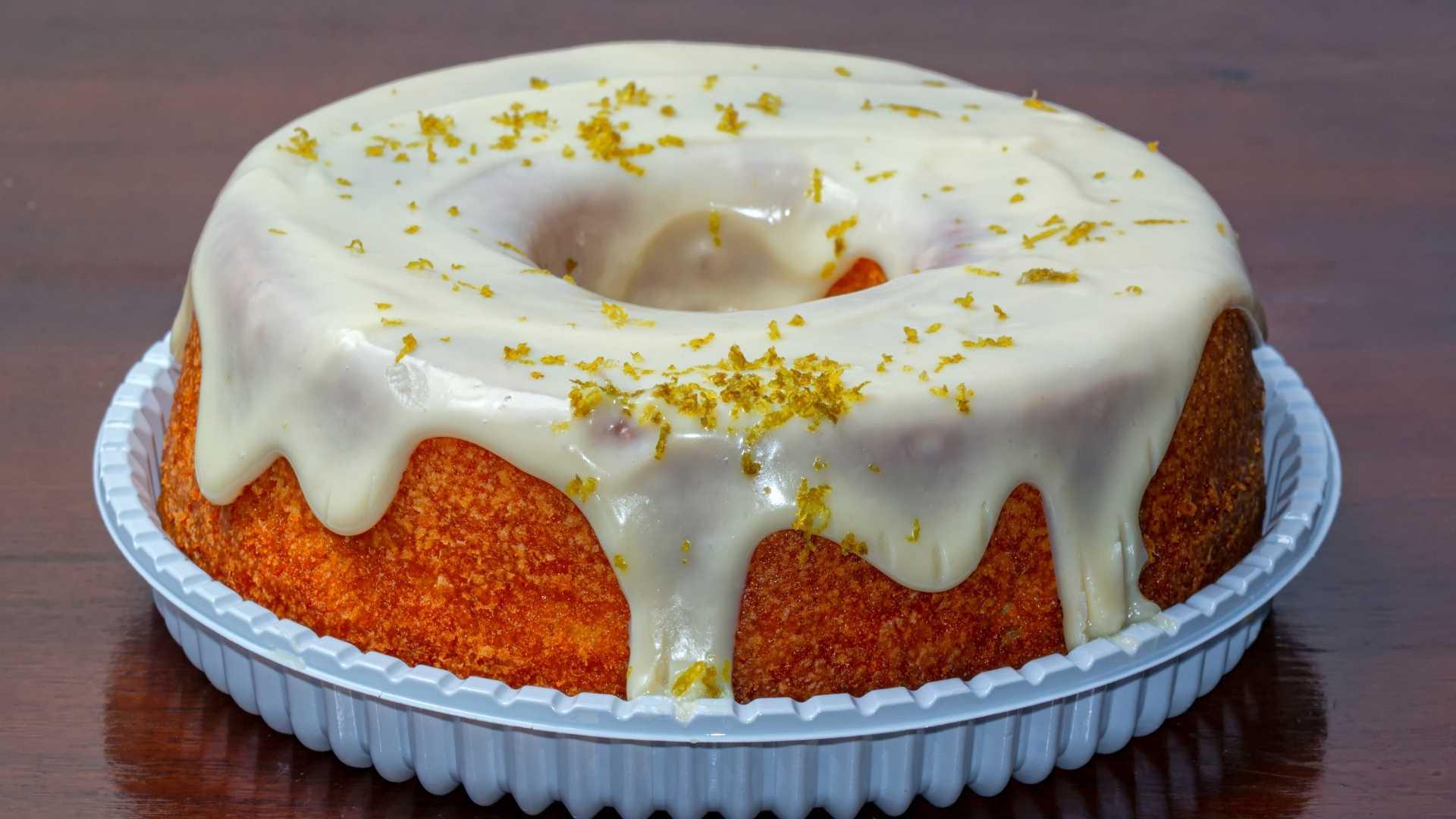 Receita de bolo de limão de liquidificador