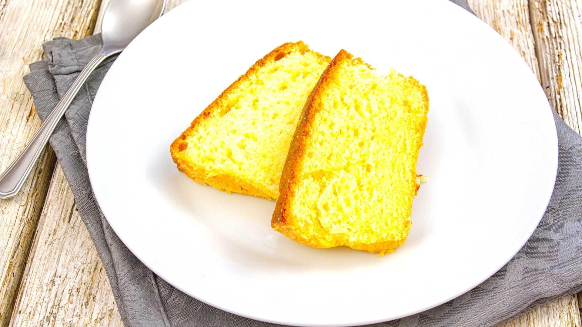 Receita de bolo de paçoca