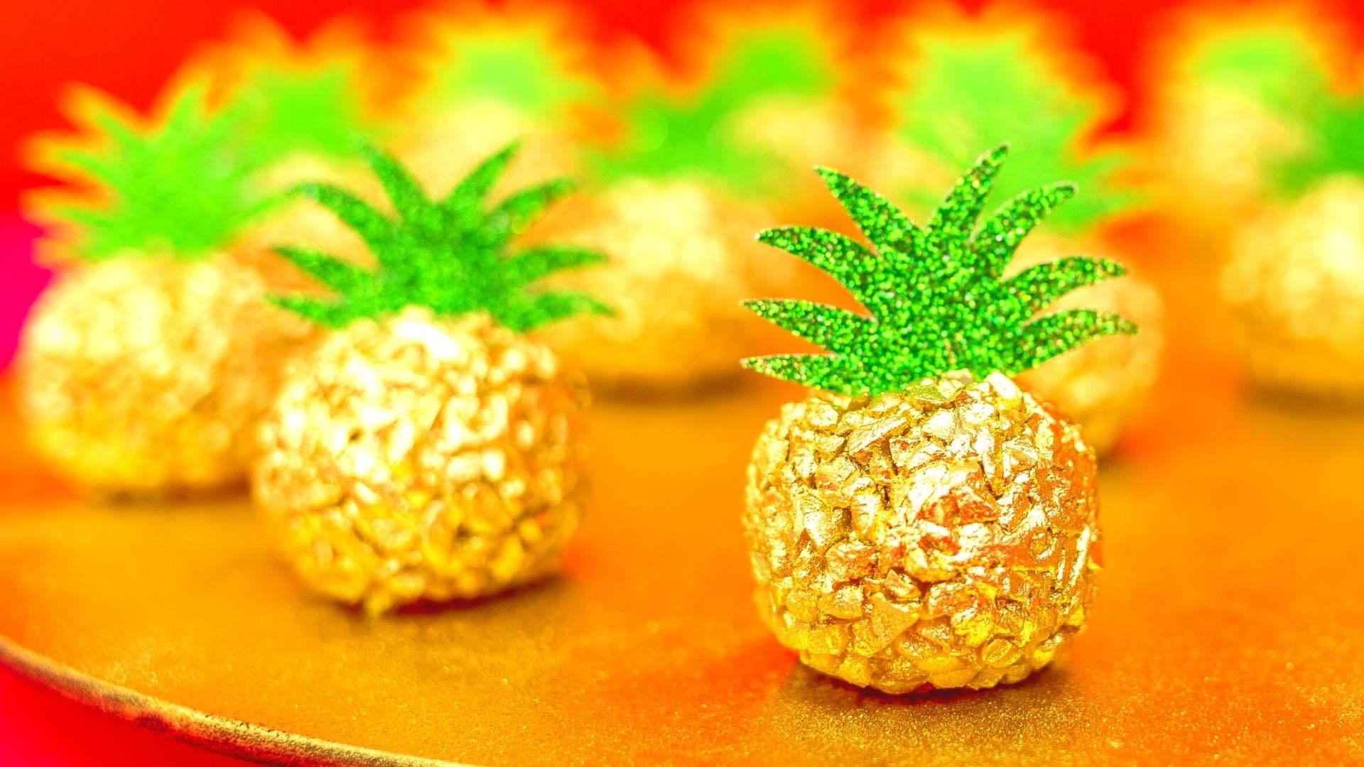 Receita de brigadeiro gourmet de abacaxi
