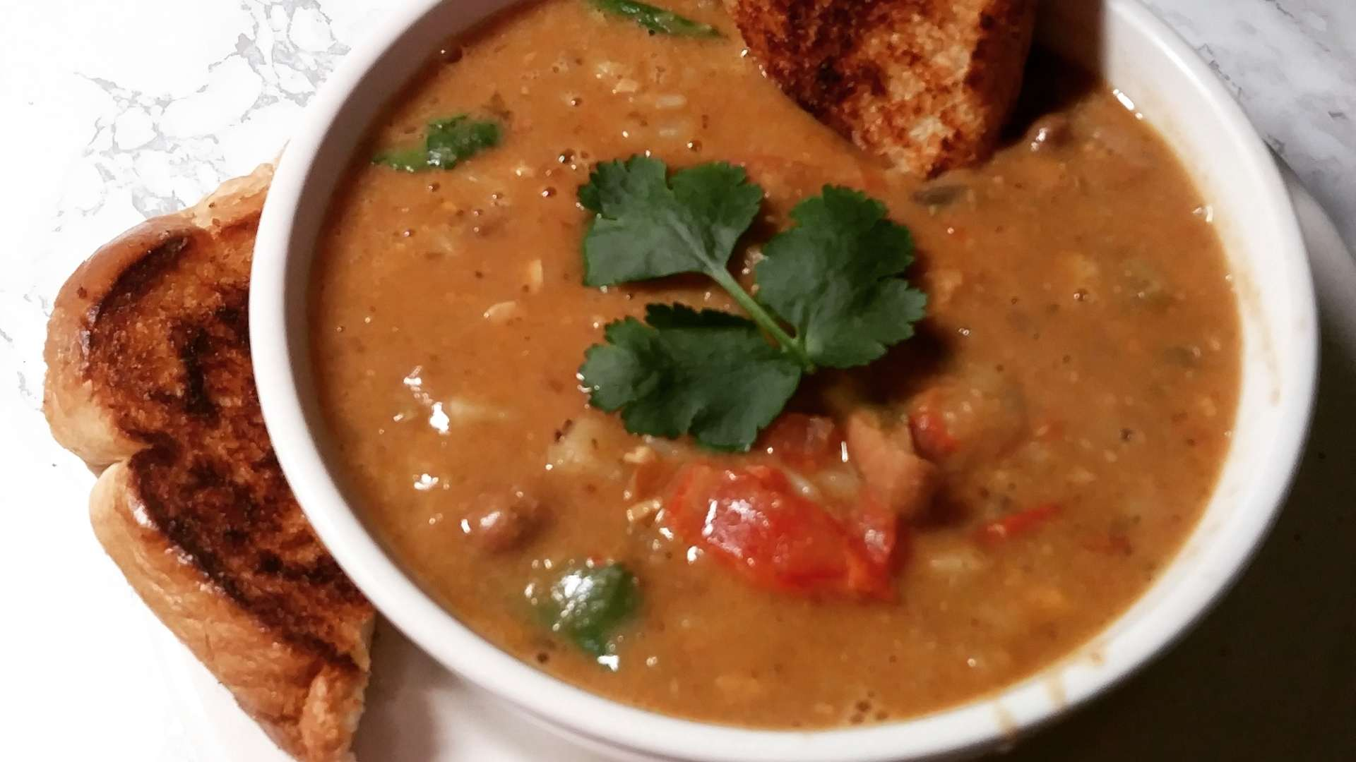 Receita de sopa de feijão com macarrão