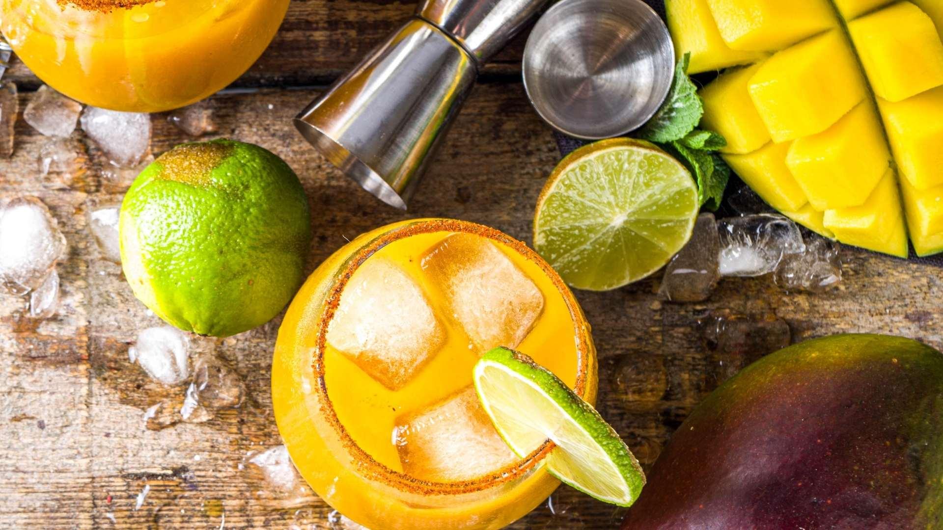 Receita de suco de manga com limão