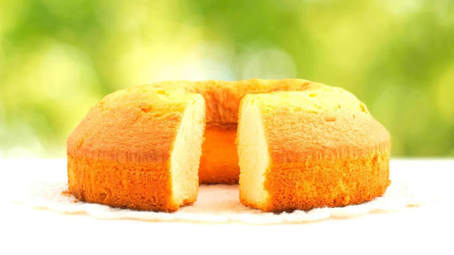 Receita e bolo e tapioca