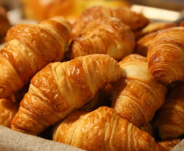 Receita fácil de croissant