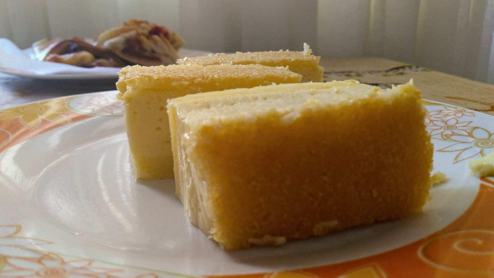 Receita de Bolo de Tofu