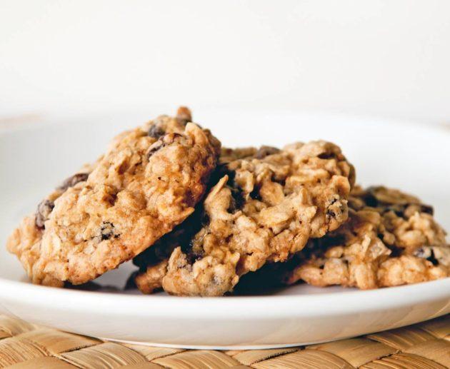 Receita de Cookie Integral de Aveia