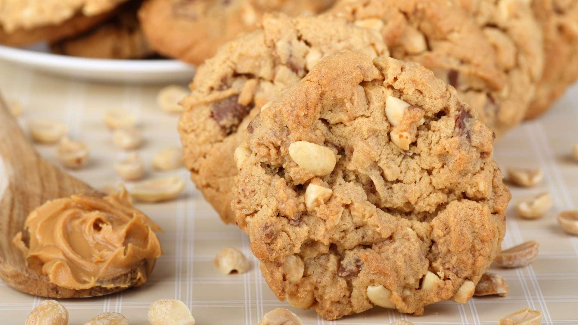 Receita de Cookies de Amendoim