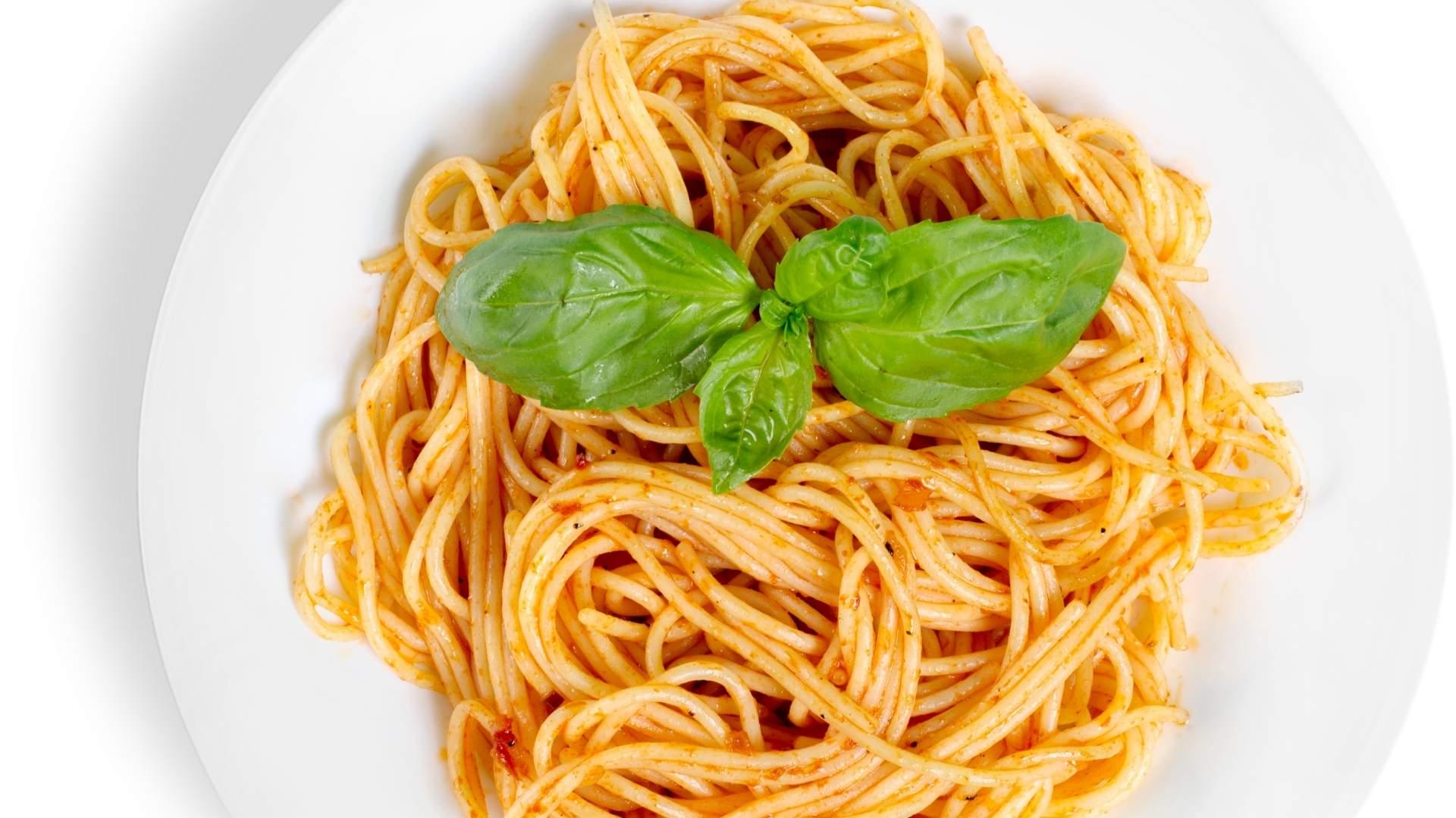 Receita de Espaguete ao Molho Pesto