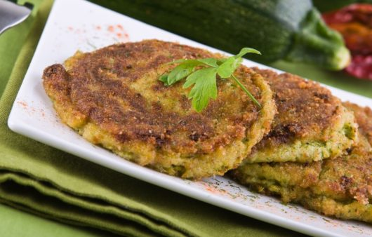 Receita de Omelete de Abobrinha com Tomate