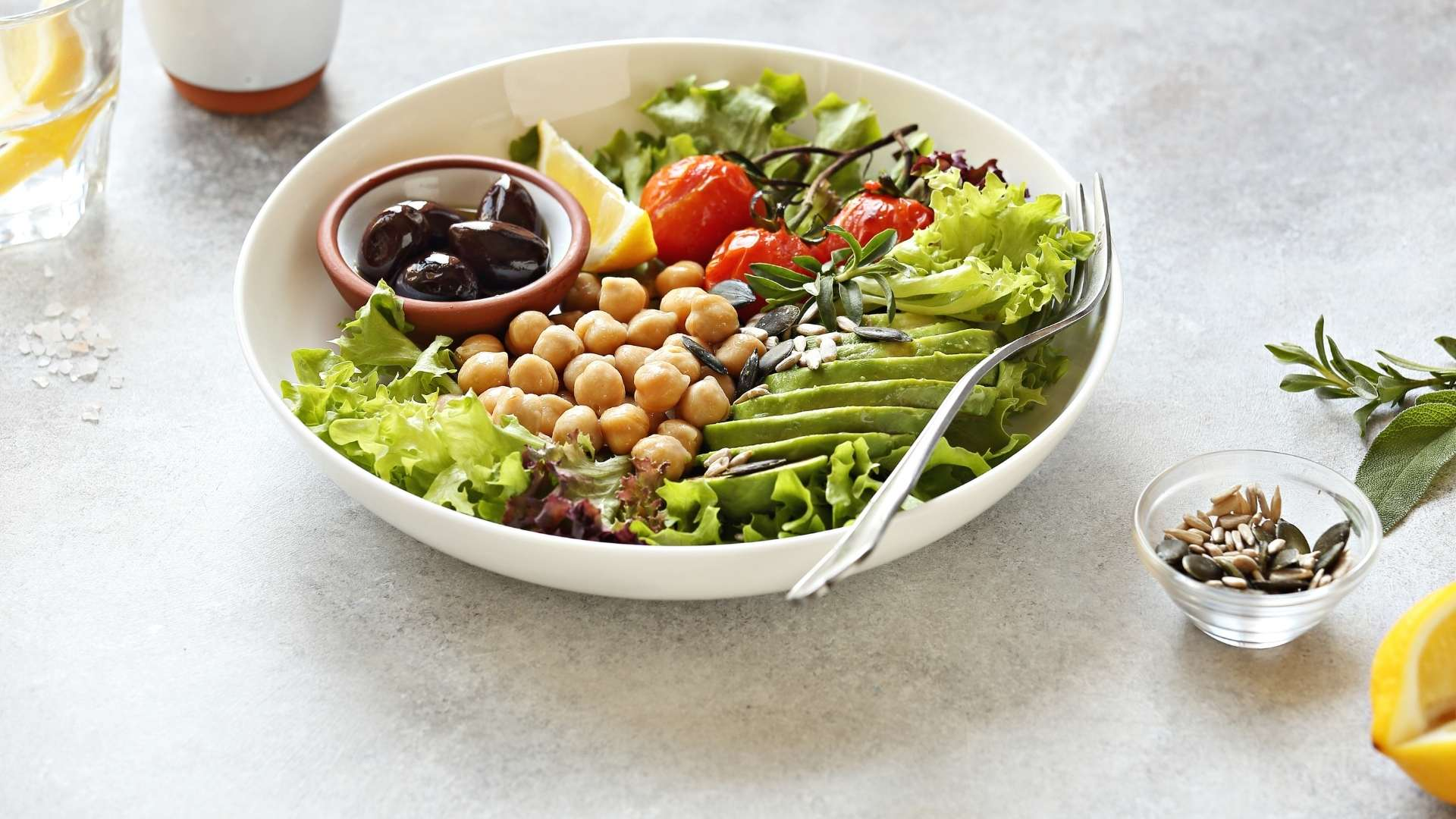 Receita de Salada Detox