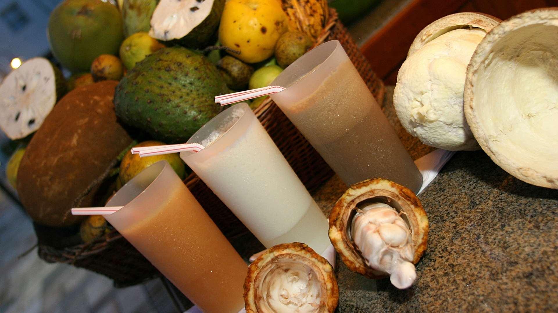 Receita de Suco de Cupuaçu