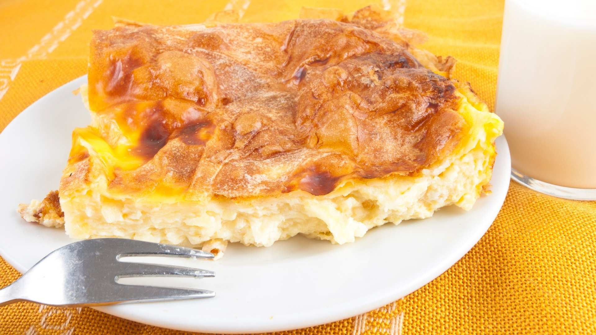 Receita de Torta de Queijo