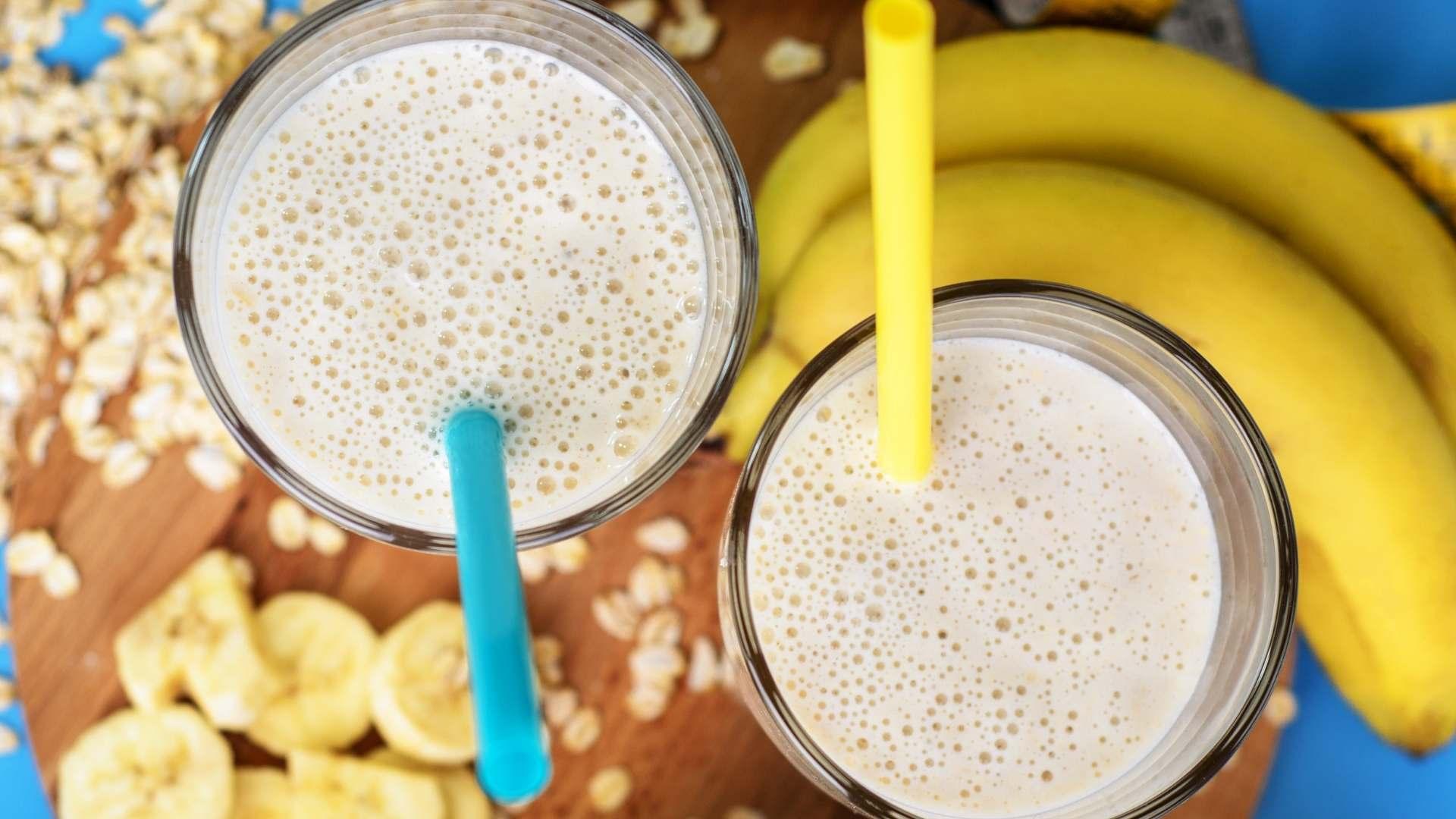 Receita de Vitamina de Frutas com Banana