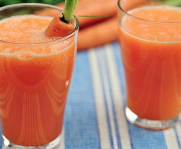 Receita de Vitamina de Mamão e Cenoura