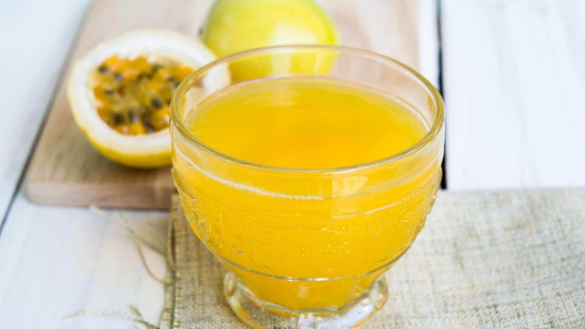 Receita de Vitamina de Maracujá