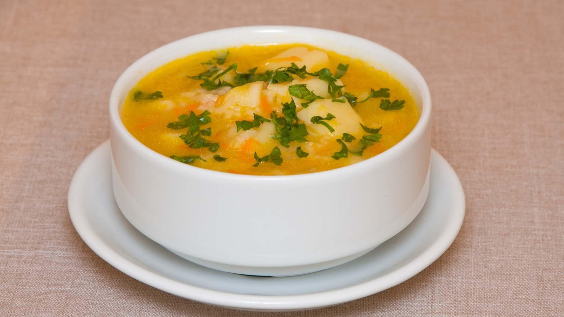 Receita de sopa de cenoura e chuchu